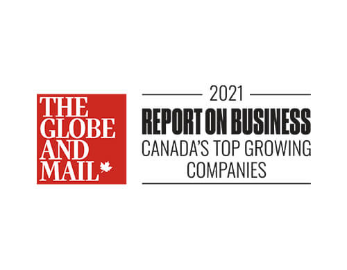 The Globe And Mail - Canada's Top Growing Companies 2021